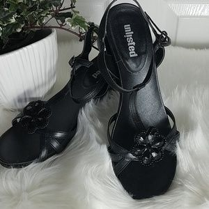Unlisted, wedge sandals, size 10